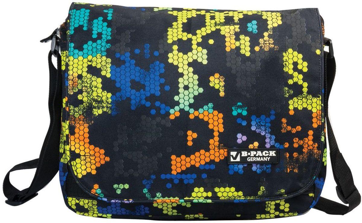 Brauberg Сумка детская Атлас224766Сумка на ремне Brauberg из водонепроницаемой ткани с мозаичным рисунком - это удобная вещь на все случаи жизни. Благодаря своей темной гамме цветов, она практична. При этом ее оригинальный узор выгодно выделяется из толпы. Сумку по достоинству оценят современные молодые люди. . Сумка имеет одно основное отделение, закрывающееся на застежку молнию и клапаном на липучках. Под клапаном располагается один прорезной открытый карман и кармашек с клапаном под мобильный телефон, сзади сумки имеется прорезной карман на молнии.Плечевой ремень регулируется по длине.