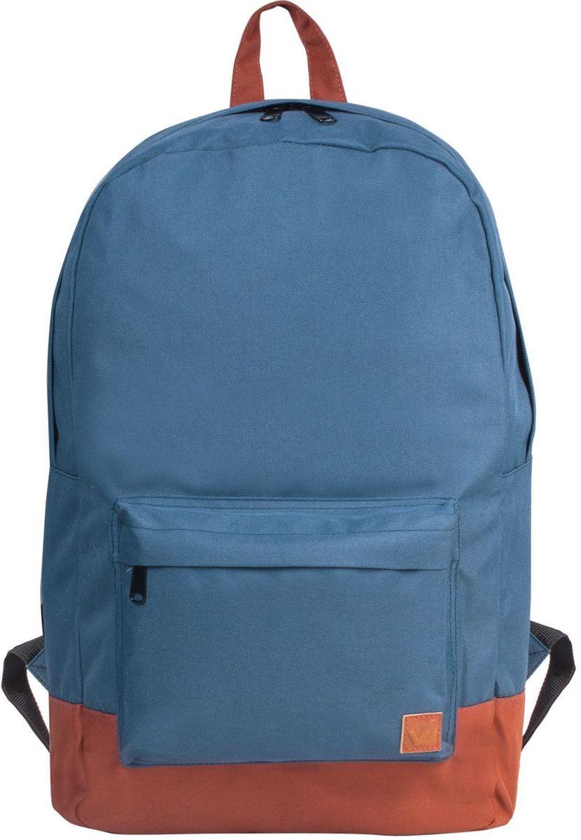 Brauberg Рюкзак Сити-формат цвет синий коричневый рюкзак brauberg ягоды beige 226419