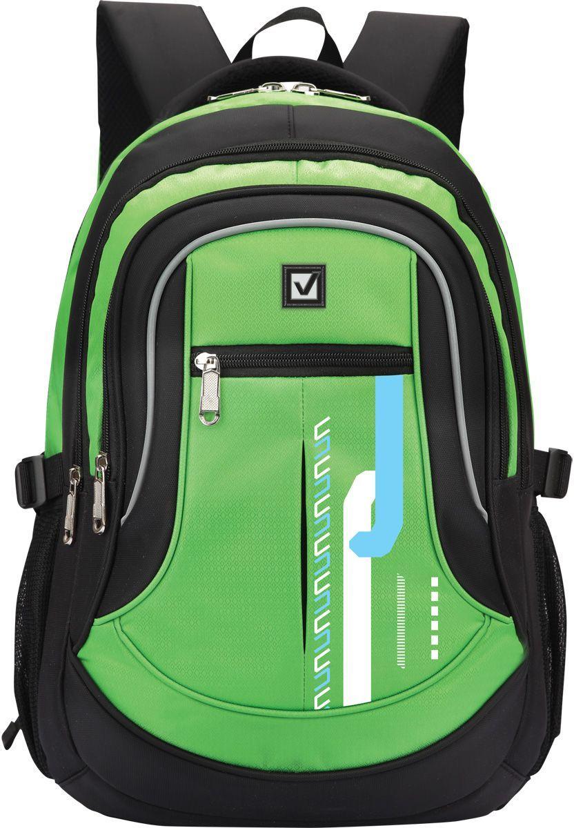 Brauberg Рюкзак Лайм225524Яркий, практичный рюкзак станет надежным спутником для тех, кто ведет активный образ жизни. Модель подходит как для учебы, так и для отдыха или спорта.•2 отделения, 4 кармана. •Формоустойчивая спинка. •Ремни регулировки объема. •Водоотталкивающая ткань. •Размер: 46х34х18 см. •Объем: 30 литров.