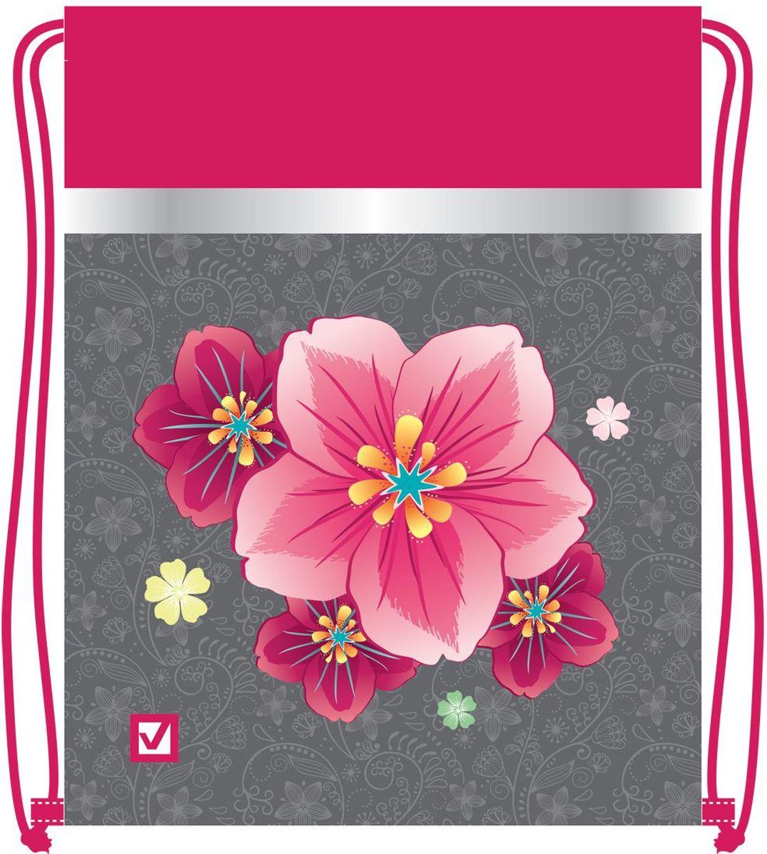 Brauberg Сумка для детской обуви Цветок