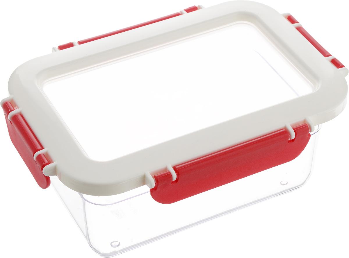 Контейнер для продуктов Herevin, 1 л. 161425-001CP0603S/GAКонтейнер для продуктов Herevin изготовлен изкачественного пищевого пластика без содержания BPA.Крышка с 4 защелками плотно и герметично закрывается,поэтому продукты дольше остаются свежими. Прозрачныестенки позволяют видеть содержимое. Защелки дополненырельефом в виде надписи Herevin. Такой контейнер подойдет для использования дома, его можновзять с собой на работу, учебу, в поездку.Можно использовать в микроволновой печи без крышки.Нельзя мыть в посудомоечной машине.
