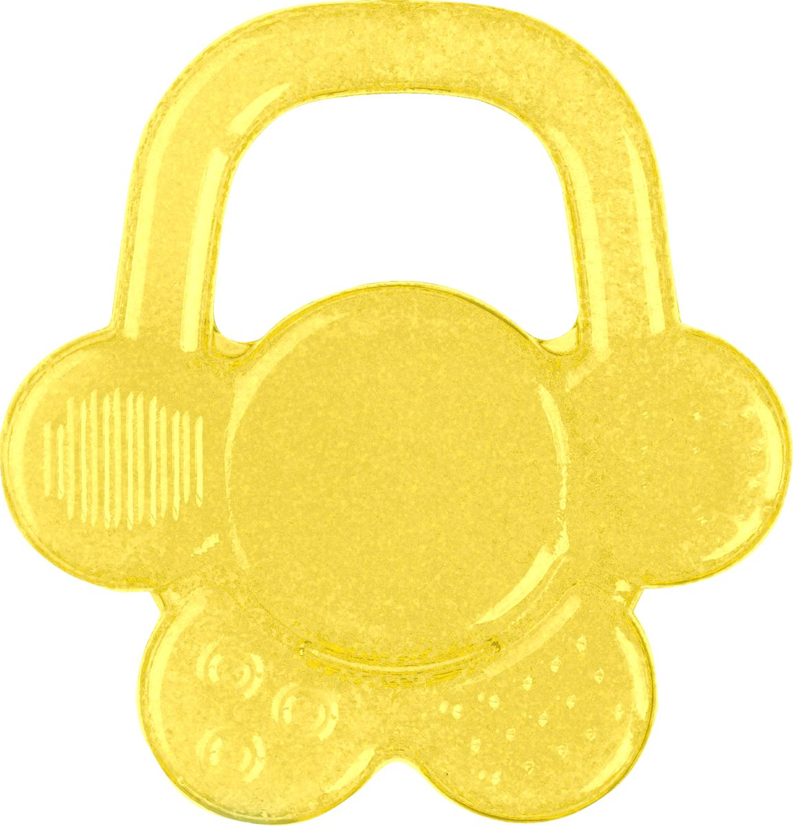 BabyOno Прорезыватель охлаждающий Цветок цвет желтый