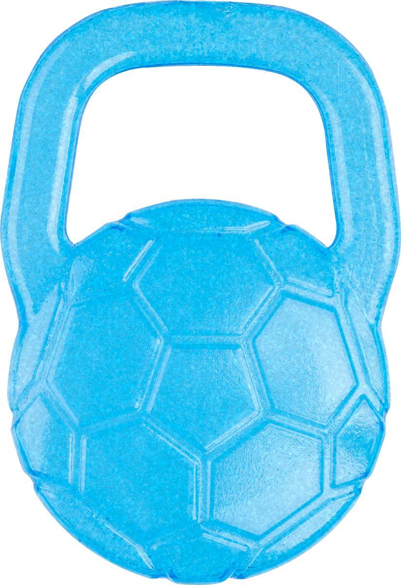 BabyOno Гелевый прорезыватель для зубов Мяч цвет голубой