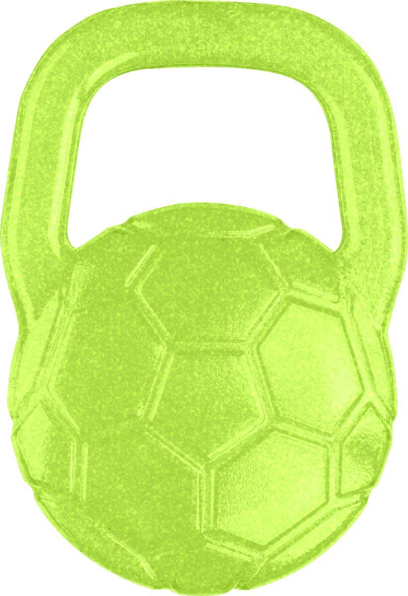 BabyOno Гелевый прорезыватель для зубов Мяч цвет зеленый