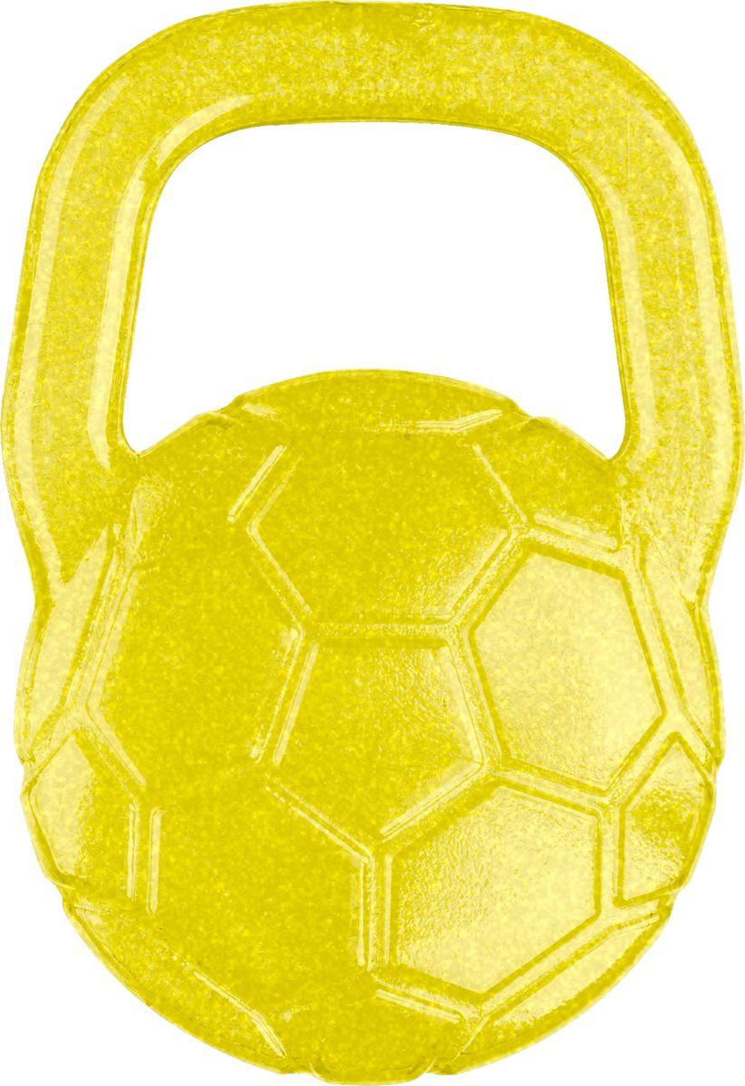 BabyOno Прорезыватель охлаждающий Мяч цвет желтый