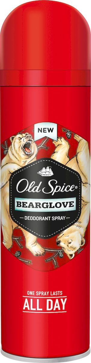 Old Spice Дезодорант-спрей Bearglove, 150 мл босоножки old beijing cloth shoes 2015