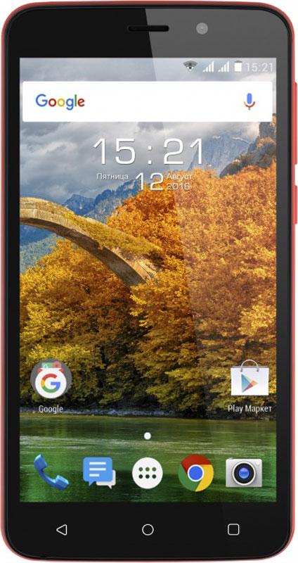 Fly Nimbus 9 FS509, Red9836Новейшая операционная система Android, производительная начинка, 1 ГБ оперативной памяти, 5 Мпикс камера соединились в новом представителе линейки Nimbus - Fly Nimbus 9.Эргономичный корпус и слегка шероховатая задняя панель привлекают внимание и делают смартфон удобным для управления одной рукой.Fly Nimbus 9 станет надежным помощником в решении повседневных задач. Четырёхъядерный процессор Spreadtrum SC7731С под управлением ОС Android Marshmallow отличается производительностью и низким энергопотреблением, обеспечивая эффективную и продолжительную работу.Производительный процессор под управлением самой современной ОС Android Marshmallow и наличием 1 ГБ оперативной памяти позволяют сделать работу смартфона слаженной, а также мгновенно обрабатывать поступающие запросы.Вместе с Fly Nimbus 9 легко запечатлеть яркий момент и мгновенно поделиться им со своими друзьями в социальных сетях. Пятимегапиксельная камера оснащена вспышкой и цифровым зумом, благодаря чему снимки будут четкими и яркими.Традиционная поддержка работы двух SIM-карт позволит подобрать выгодные тарифные планы на мобильную связь. С поддержкой скоростного 3G интернета вы сможете всегда быть на связи и иметь выход в интернет, где бы вы ни находились. А модуль A-GPS увеличит точность и надежность определения местоположения.Телефон сертифицирован EAC и имеет русифицированный интерфейс меню и Руководство пользователя.
