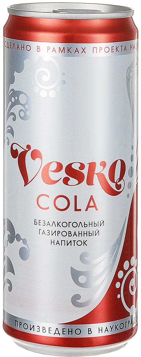 Vesko Cola лимонад, 330 мл pediasure смесь со вкусом ванили с 12 месяцев 200 мл