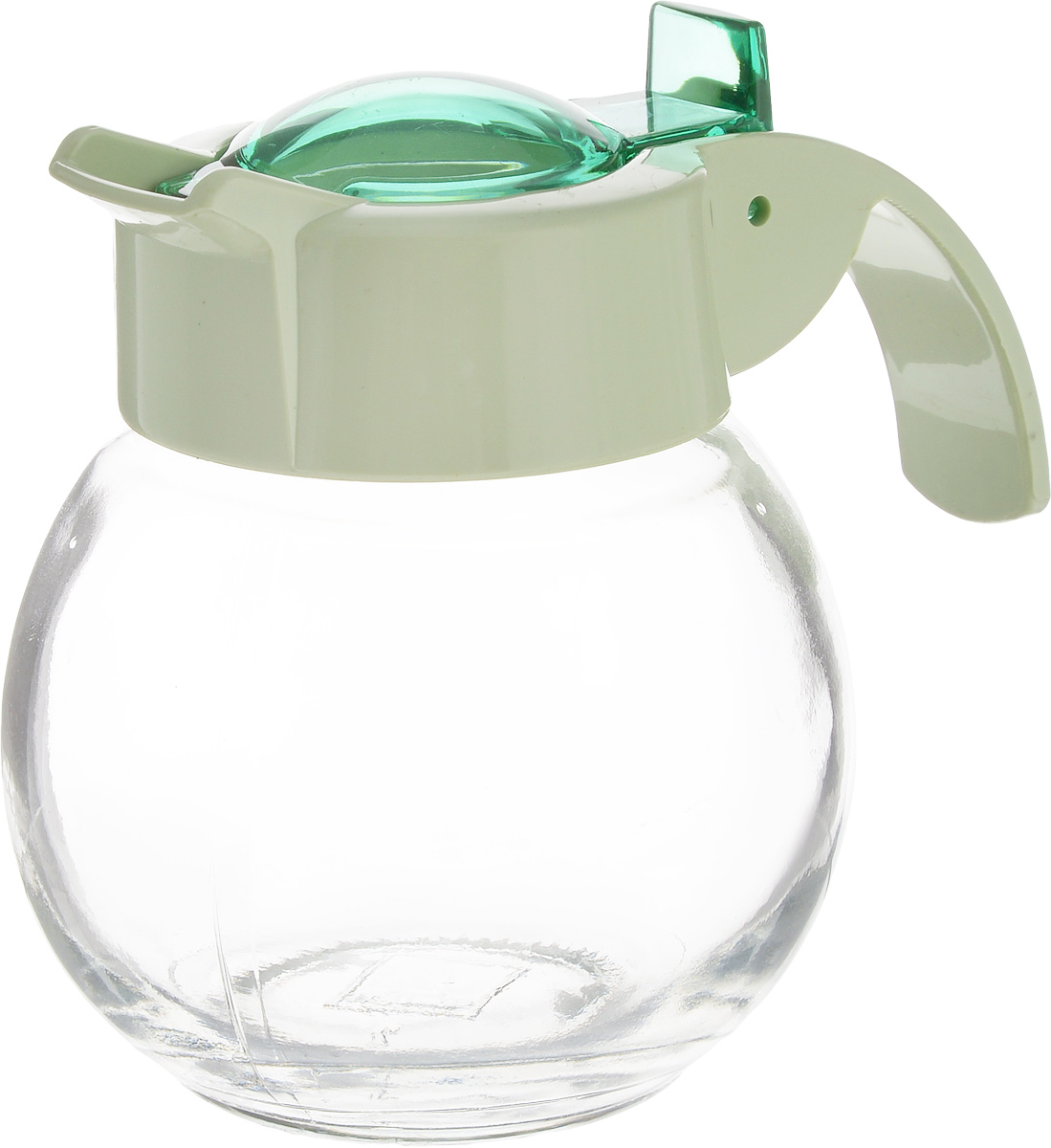 Емкость для жидкости Herevin, цвет: зеленый, прозрачный, 180 мл131671-500_зеленыйЕмкость для жидкости Herevin выполнена из качественного прочного стекла, снабжена пластиковой ручкой и откидной крышкой. Форма носика обеспечивает наливание жидкости без расплескивания. Емкость легка в использовании, стоит только перевернуть ее, и вы с легкостью сможете добавить оливковое или подсолнечное масло, уксус или соус. Крышка легко откручивается, что позволяет без труда наполнить емкость. Диаметр (по верхнему краю): 5 см.Высота емкости: 9 см.