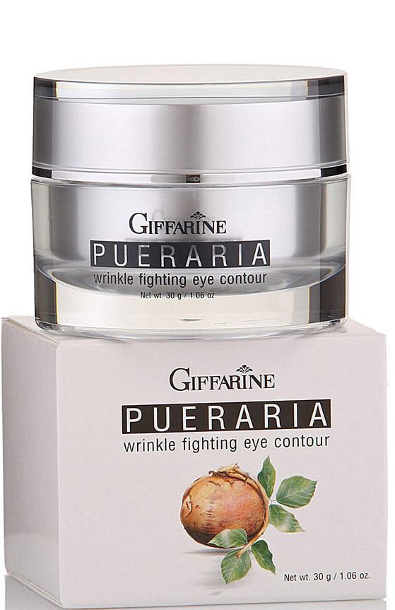 Giffarine Крем против морщин вокруг глаз Pueraria, 30 г масла giffarine травяной ингалятор карандаш от giffarine по 2 шт в упаковке