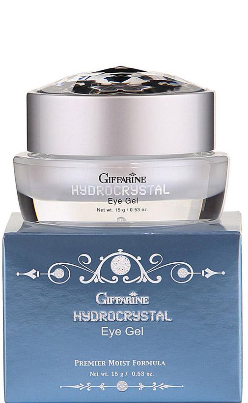 Giffarine Увлажняющий гель против морщин для кожи вокруг глаз Hydro Crystal, 15 г масла giffarine травяной ингалятор карандаш от giffarine по 2 шт в упаковке