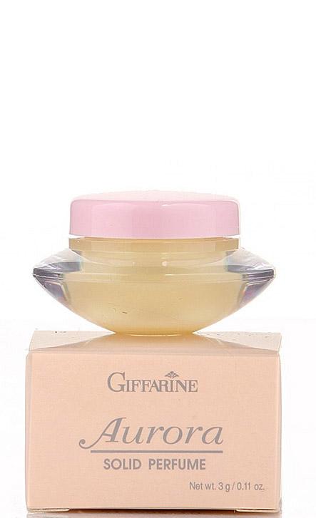 Giffarine Aurora Solid Perfume Сухие духи с природными феромонами Aurora, 3 г11912Нежный, интригующий аромат, который непременно добавит образу загадочности и романтичности! Парфюм комплиментарен, вызывает интерес у окружающих, звучит интересно и небанально, говоря о хорошем вкусе носительницы.