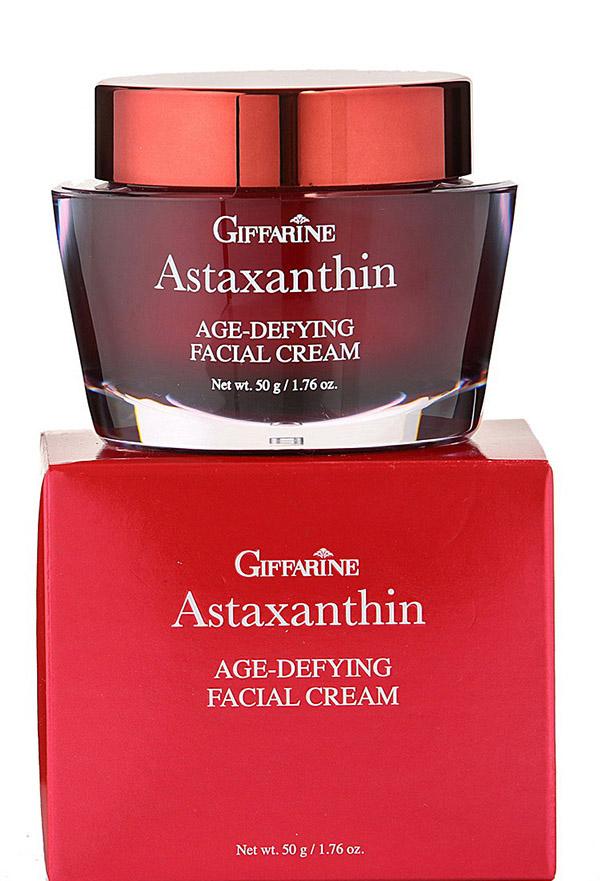 Giffarine Анти возрастной крем для лица Астаксантин, 50 г масла giffarine травяной ингалятор карандаш от giffarine по 2 шт в упаковке