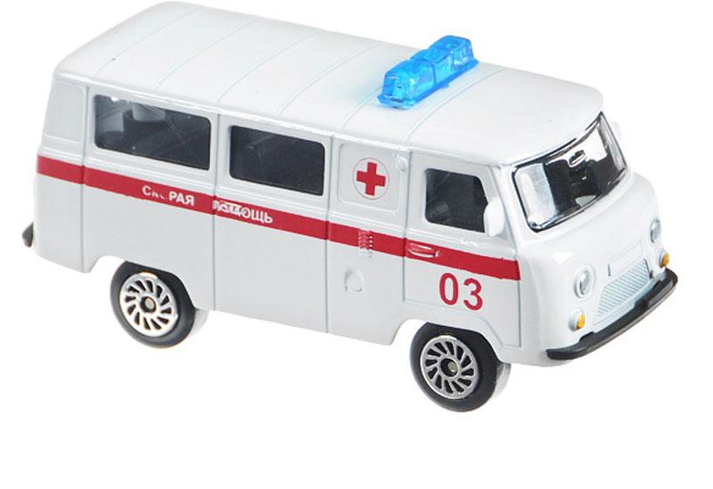 ТехноПарк Автомобиль UAZ 39625 Скорая помощь autotime модель автомобиля uaz 39625 дорожные работы