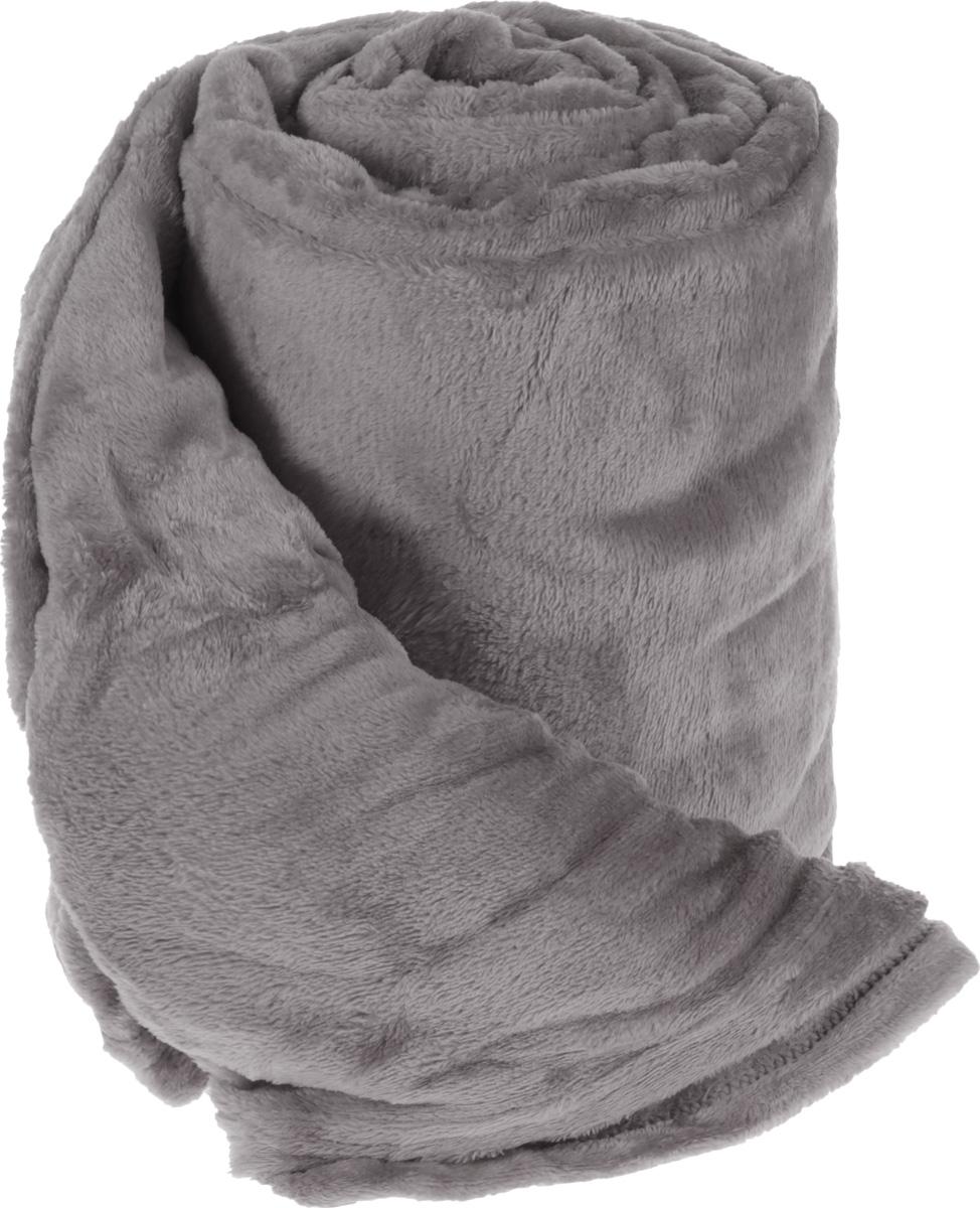 Плед Cleanst, цвет: серый, 200 х 230 смGREYПлед Cleanst выполнен из фланелевого флиса (100% полиэстер). Материал мягкий, нежный и приятный на ощупь, кроме того, он обладает абсорбирующими, антибактериальными и противоскользящими свойствами. Такой плед отлично дополнит интерьер вашей комнаты, в него уютно закутаться в прохладные вечера, он порадует вас легкостью, нежностью и оригинальным дизайном.
