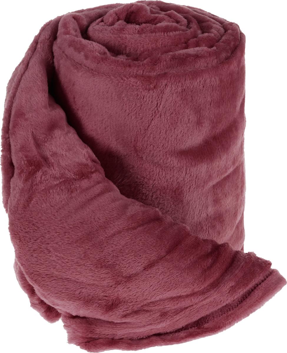 Плед Cleanst, цвет: брусничный, 200 х 230 смPLUM PURPLEПлед Cleanst выполнен из фланелевого флиса (100% полиэстер). Материал мягкий, нежный и приятный на ощупь, кроме того, он обладает абсорбирующими, антибактериальными и противоскользящими свойствами. Такой плед отлично дополнит интерьер вашей комнаты, в него уютно закутаться в прохладные вечера, он порадует вас легкостью, нежностью и оригинальным дизайном.