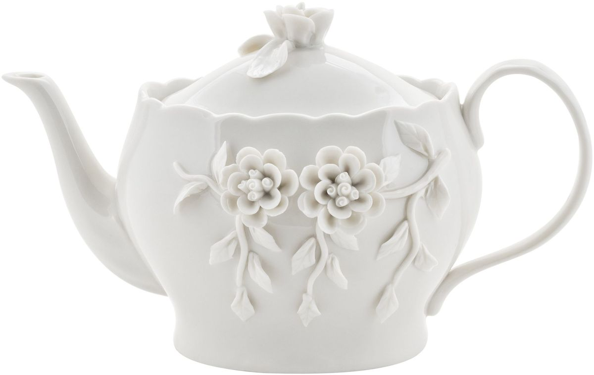 Чайник заварочный Elff Decor Italy Design, 950 мл130-025Чайник из серии посуды Italy design, в которой каждый предмет выглядит невероятно нежно и изысканно. Нежные цветы и порхающие бабочки, эта роскошная коллекция - образец гармоничного дизайна в романтическом стиле. Оригинальная посуда на ножках сделает неповторимым ваш интерьер!