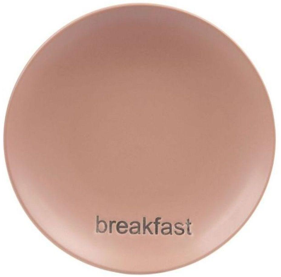 Тарелка Elff Decor Какао, диаметр 18 см поднос сервировочный elff decor цвет золотой
