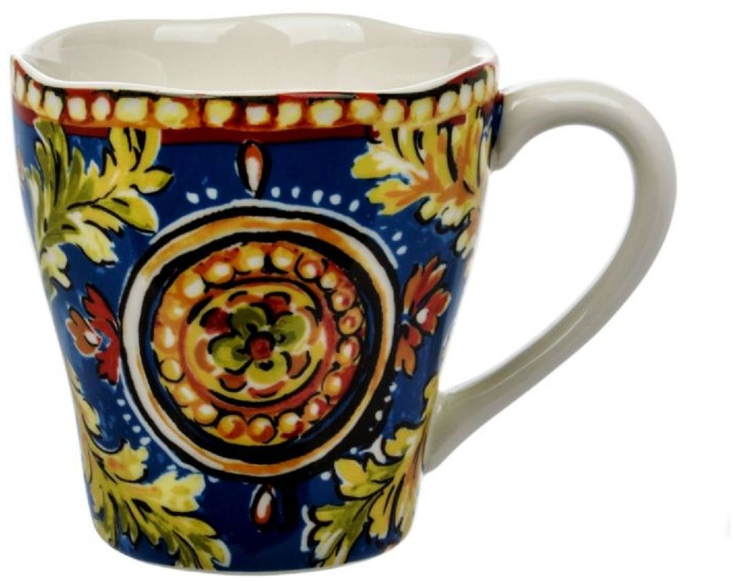 Кружка Сказка, 400 мл1600-718Кружка из серии посуды DELI превратит ваш обед или чаепитие в утончённую трапезу и позволит вам вдохнуть атмосферу загадочного неповторимого Востока.