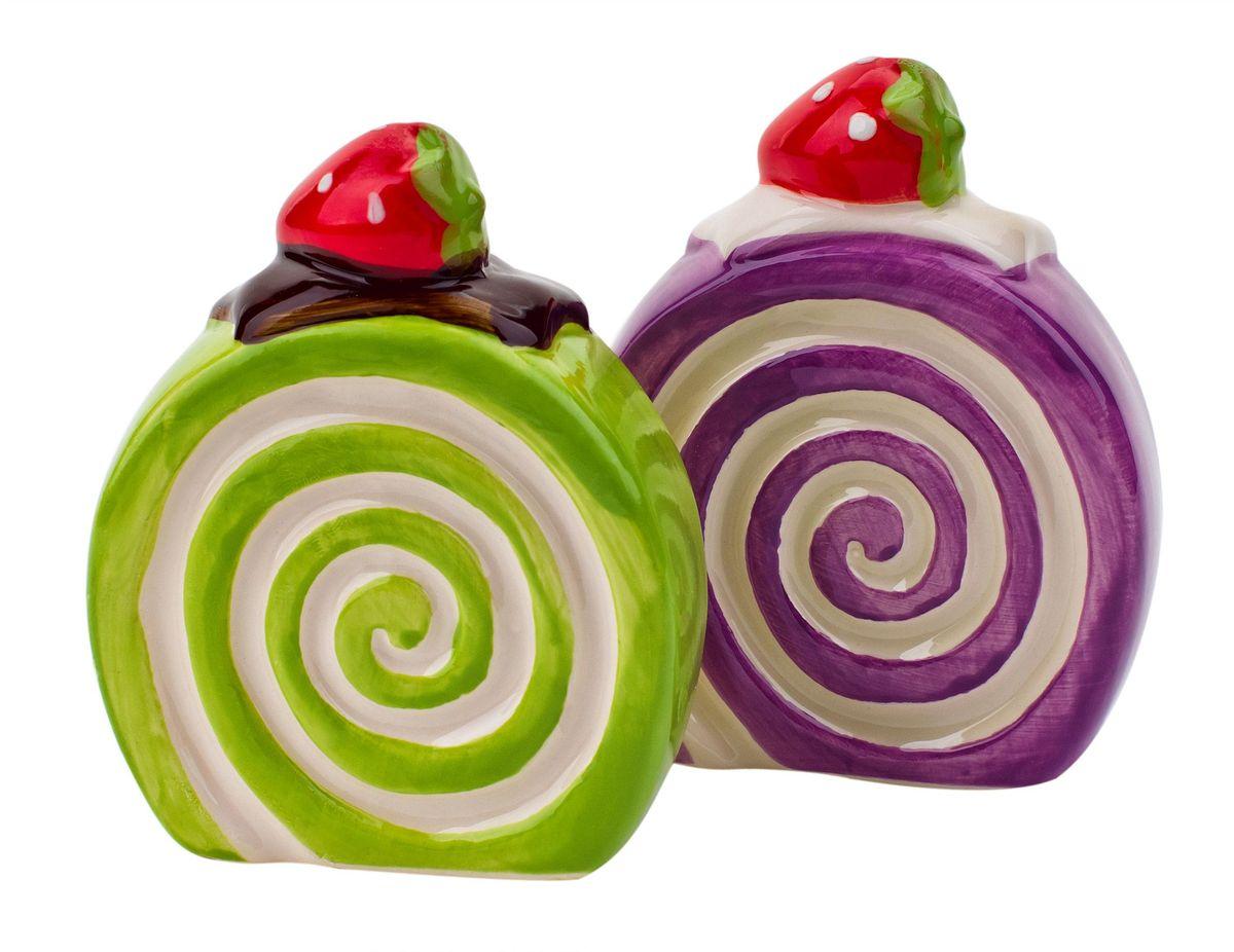 Набор для специй Elff Decor Бисквит, цвет: зеленый, фиолетовый, 2 предмета200-002Набор для специй Elff Decor Бисквит сделает вашу кухню яркой и незабываемой. Эти милые и весёлые баночки для специй выглядят очень аппетитно и придутся по душе любой хозяйке. Порадуйте близких и детей милым подарком!