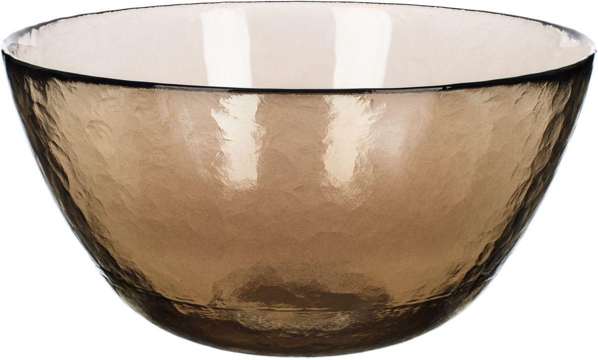 Чаша Elff Decor Оливия, цвет: оливковый, прозрачный, диаметр 21 см2300-980Чаша Elff Decor Оливия выполнена из высококачественного стекла и декорирована рельефным узором. Она подойдет для сервировки стола как для повседневных, так и для торжественных случаев. Такая чаша прекрасно впишется в интерьер вашей кухни и станет достойным дополнением к кухонному инвентарю.