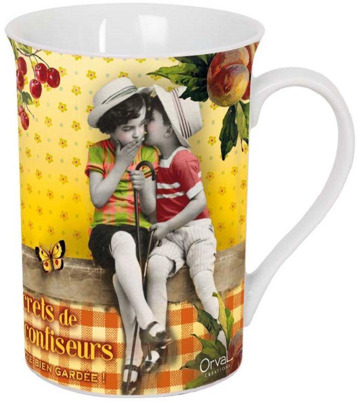 Кружка ORVAL Маленькие кондитеры, 270 мл2500-048Кружка украсит Ваш ежедневный завтрак или чашку чая или кофе Изящное дополнение к своей столовой посуде