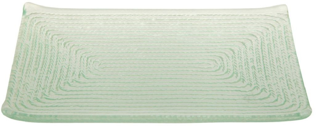 Тарелка Elff Decor Веревочка, 16 х 12 см поднос сервировочный elff decor цвет золотой