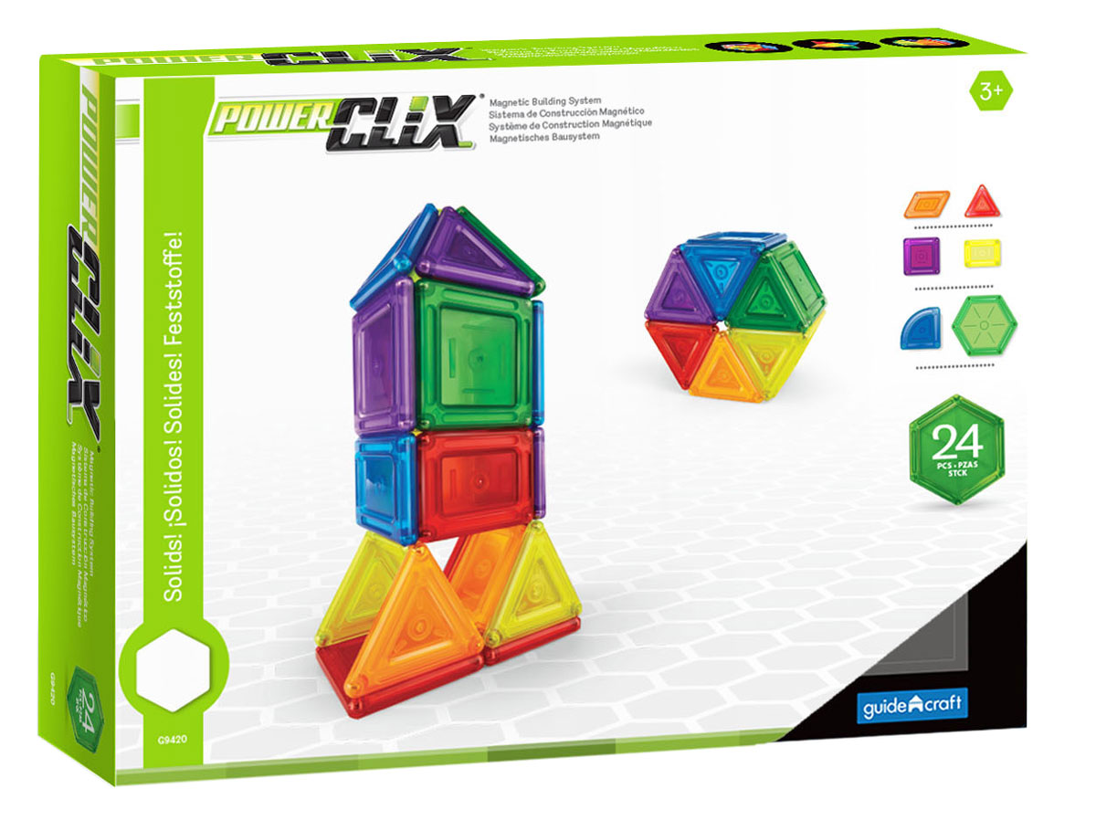 Guide Craft Конструктор PowerClix Solids G9420