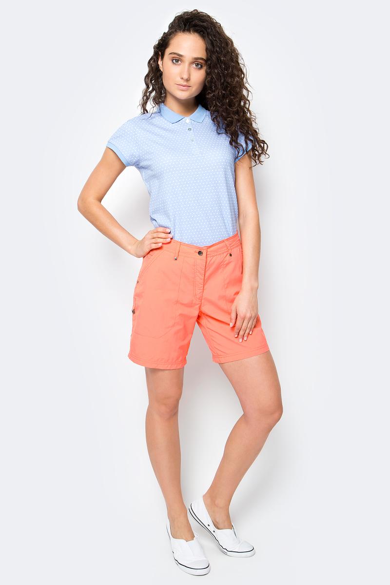 Шорты женские Icepeak Louisa, цвет: коралловый. 754530574IV. Размер 34 (40) шорты для плавания женские icepeak manon цвет розовый синий 754528622iv размер 36 42