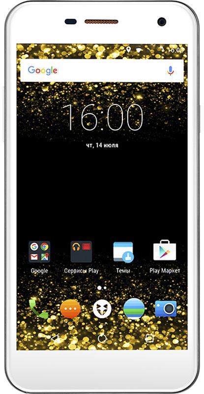 Wileyfox Spark, White9610Wileyfox Spark мощное сочетание стильного образа и продвинутых возможностей, которое сделает ярче каждый день!Теплый слегка шероховатый Sand Stone имитирует поверхность натурального камня, а нежное покрытие смартфона в белом цвете Silk Touch создает впечатление прикосновения к шелку или к нежной коже.Эргономичный тонкий корпус Wileyfox Spark обладает продуманным соотношением сторон и небольшим весом, благодаря чему пользоваться смартфоном легко и удобно.Выделит Wileyfox Spark из толпы одинаковых смартфонов - объемный логотип в форме мордочки лисы, выполненный из анодированного цинка, уже стал отличительной чертой Wileyfox. Стилизованная под металл окантовка по всему периметру корпуса и тончайшее лазерное обрамление камеры, также делают Wileyfox Spark яркой индивидуальностью. Изогнутый 2.5D дисплей делает внешний вид смартфона эстетически законченным.Экран смартфона - это ваше персональное окно в мир! Позвольте себе погрузиться в визуальный контент и насладиться им в полной мере с изогнутым 2.5D дисплеем Wileyfox Spark. В основе 5 экрана с HD разрешением лежит IPS-матрица, которая характеризуется широкими углами обзора до 178°. Не важно, в каком положении вы держите смартфон, например, играя в игры или просматривая фото и видео контент, вам гарантированы высокое качество изображения и отличные характеристики передачи цвета.Для защиты дисплея от повреждений и царапин в Wileyfox Spark используется сверхпрочное стекло Dragontrail от японского производителя AGCИзготовление окантовки смартфона и из сплава алюминия позволило сделать устройство легким и очень прочным. Металлический каркас делает смартфон устойчивым к повреждениям и деформациям и не позволяет ему гнуться.Wileyfox Spark - первый в мире смартфон с поддержкой ОС Cyanogen, работающий на базе чипсета MediaTek. Использования технологий MediaTek позволило создать идеальную производительную базу для самого современного программного обеспечения, сохранив доступную стоимость смартфона.ОС Cyano