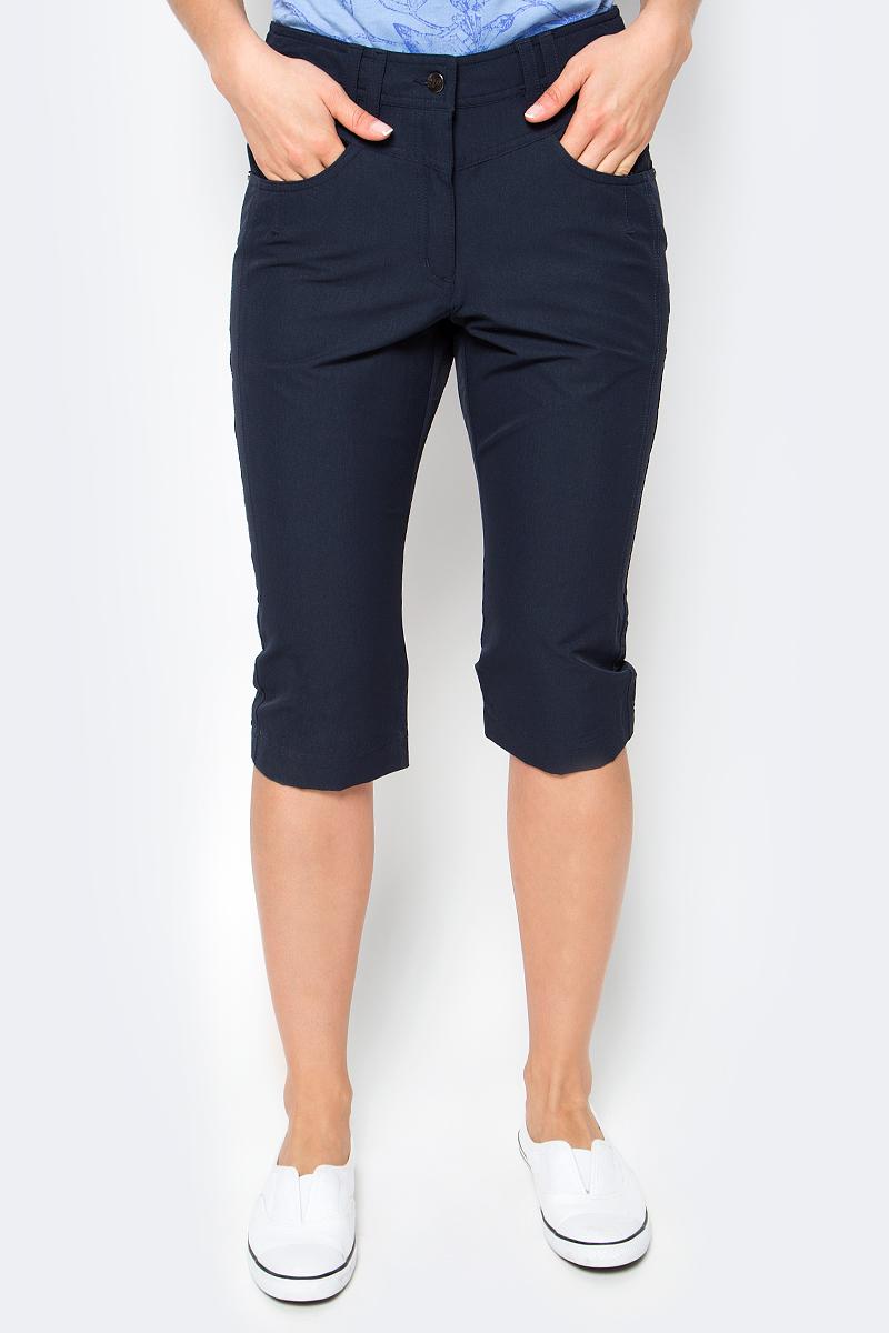 Купить Бриджи женские Icepeak, цвет: темно-синий. 754057659IV. Размер 38 (44)