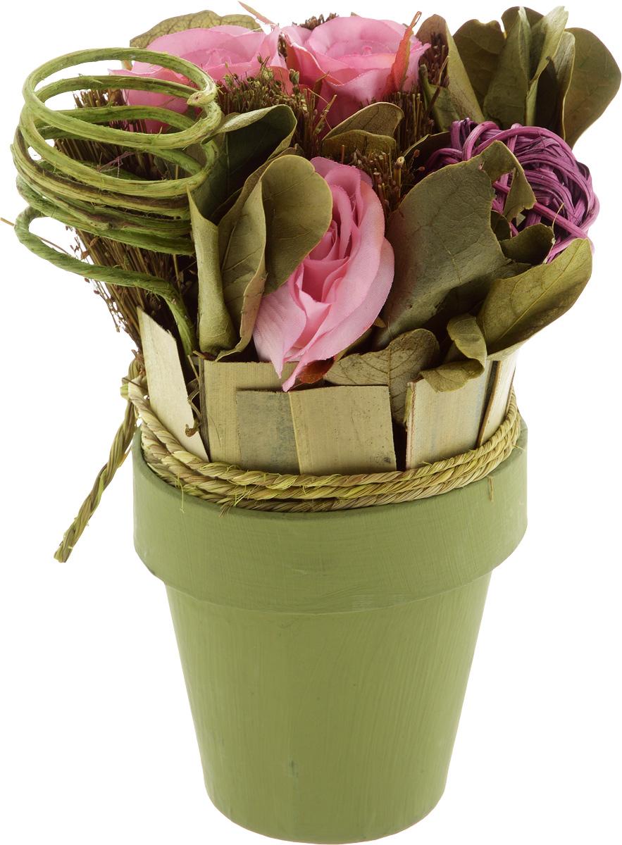 Декоративный букет Magic Home Летний, с сухоцветами украшение волшебная книга magic home украшение волшебная книга