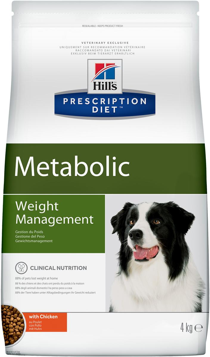 Корм сухой диетический Hills Metabolic для собак, для коррекции веса, 4 кг2098Сухой диетический корм для собак Hills - полноценный диетический рацион для собак, предназначенный для снижения избыточной массы тела и поддержания оптимального веса. Данный рацион обладает пониженной энергетической ценностью. Ключевые преимущества: - клинически доказанное безопасное и эффективное улучшение обмена веществ у собаки, - безопасная потеря до 28% жира за 2 месяца, - предотвращает повторный набор веса при соблюдении программы по похуданию, - прекрасные вкусовые и питательные качества. Состав: мясо и производные животного происхождения, злаки, экстракты растительного белка, производные растительного происхождения, овощи, семена, масла и жиры, минералы. Анализ: белок 26,2%, жир 10,8%, сырая клетчатка 13,0%, сырая зола 5,1%, кальций 0,77%, фосфор 0,61%, натрий 0,27%, калий 0,82%; на кг: витамин E 500 мг, витамин С 90 мг, бета-каротин 1,5 мг. Добавки на кг: E672 (витамин А) 27 360 ME, E671 (витамин D3) 1 610 ME, E1 (железо) 248 мг, E2 (йод) 2,5 мг, E4 (медь) 31,5 мг, E5 (марганец) 149 мг, E6 (цинк) 211 мг, E8 (селен) 0,5 мг, с натуральным консервантом и натуральными антиоксидантами. Товар сертифицирован.Уважаемые клиенты! Обращаем ваше внимание на возможные изменения в дизайне упаковки. Качественные характеристики товара остаются неизменными. Поставка осуществляется в зависимости от наличия на складе.