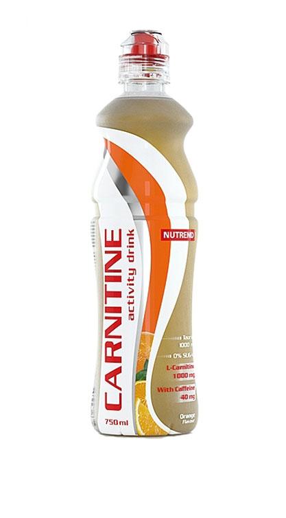 Напиток с L-карнитином Nutrend Carnitine Activity Drink, апельсин, 750 млNTD0613Освежающий напиток с L-карнитином, таурином и кофеином для дополнительной энергии и роста физической активности.Зачем нужен этот напитокCarnitine Activity Drink готовый к употреблению напиток без сахара, содержащий 1000 мг L-карнитина, а также природные энергетики – кофеин и таурин, которые помогут вам тренироваться с полной отдачей максимально долго. Напиток поможет увеличить работоспособность, подготовит тело к физическим нагрузкам и пополнит силы в ходе самой тренировки, если усталость возьмет над вами верх.Carnitine Activity Drink эффективно возместит потери жидкости организма во время физических нагрузок. L-карнитин в составе будет способствовать выработке энергии из жиров, уменьшая, таким образом, подкожную жировую клетчатку, а не мышечную массу, что делает тренировки более эффективными. Кофеин прерывает болевые сигналы, которые мышцы посылают в мозг, вы чувствуете себя лучше во время и после тренировки, можете заниматься дольше и интенсивнее. Кроме того, он активирует работу центральной нервной системы, повышая вашу концентрацию и скорость реакций. Таурин также способствует повышению концентрации, выводя ваши тренировки на новый уровень!Замечательная линейка освежающих вкусов удовлетворит запросы даже самого взыскательного потребителя. Выпив первую бутылочку, вы уже никогда не забудете взять еще одну на следующую тренировку.Преимущества:Произведен на основе чистой родниковой воды;Эргономичная форма бутылки не выскользнет из руки;Без сахара;В составе: L-карнитин, кофеин и таурин.Товар не является лекарственным средством.Товар не рекомендован для лиц младше 18 лет.Могут быть противопоказания и следует предварительно проконсультироваться со специалистом. Как повысить эффективность тренировок с помощью спортивного питания? Статья OZON Гид