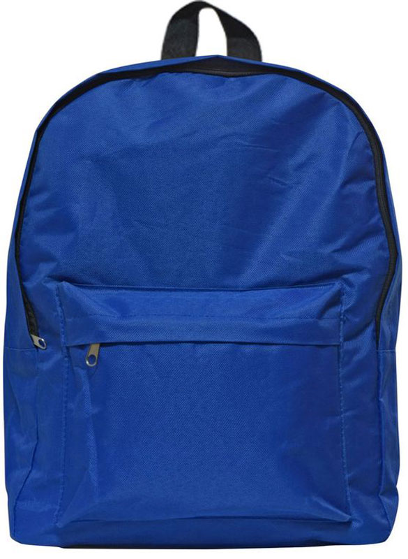 Action! Рюкзак цвет синий AB2000AB2000Рюкзак Action! выполнен из прочного материала и прекрасно подойдет для использования подростками.Рюкзак содержит одно вместительное отделение, закрывающееся на застежку-молнию. На лицевой стороне рюкзака расположен накладной карман на молнии.Рюкзак оснащен широкими лямками регулируемой длины со светоотражающими полосками и текстильной ручкой для переноски в руке.