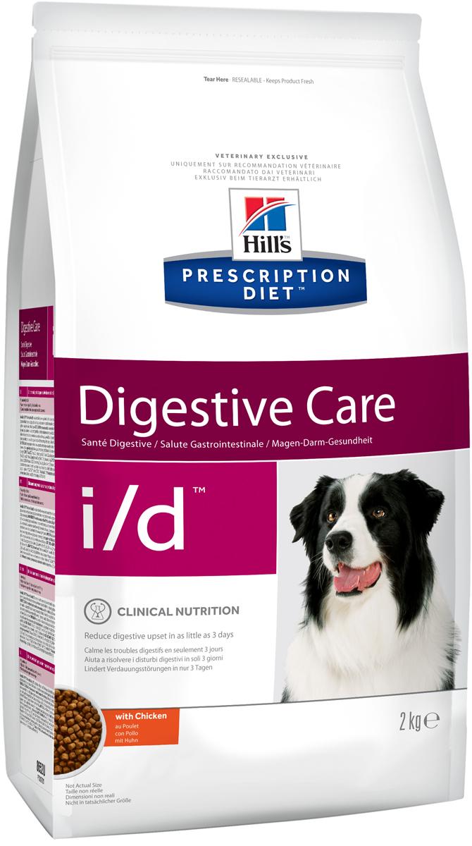 Корм сухой диетический Hills I/D для собак, для лечения ЖКТ, 2 кг8652Сухой корм для собак Hills I/D - полноценный диетический рацион при острых кишечных абсорбативных расстройствах, для компенсации дефицита нутриентов (питательных веществ), при нарушении пищеварения и экзокринной недостаточности поджелудочной железы у собак. Рацион содержит повышенный уровень электролитов, ингредиенты высокой биологической ценности и биодоступности и пониженный уровень жира.Пониженный уровень жира, обогащение пребиотическими волокнами обеспечивает легкость пищеварения и быстрое восстановление организма после диареи.- Превосходный вкус понравится вашей собаке.- Супер Антиоксидантная формула помогает укрепить иммунную систему.Рекомендации по кормлению: рекомендуемое число кормлений: 2 раза в сутки и более. Для поддержания оптимального веса питомца суточная норма корма, обозначенная на упаковке, требует корректировки в соответствии с размерами животного. Рекомендуемая продолжительность диетотерапии при острой диарее - 1-2 недели; для компенсации дефицита нутриентов - 3-12 недель; в случаях хронической недостаточности поджелудочной железы - пожизненно. Обеспечьте питомца постоянным свободным доступом к свежей воде. Состав: мясо и пептиды животного происхождения, зерновые злаки, экстракты растительного белка, яйцо и его производные, производные растительного происхождения, масла и жиры, минералы, семена. Ингредиенты высокой биологической ценности: кукуруза, рис, сухое цельное яйцо, куриная мука, мука из кукурузного глютена, животный жир, растительное масло.Анализ: белок 23,3%, жир 12,9%, клетчатка 1,5%, зола 6,3%, кальций 1,02%, фосфор 0,73%, натрий 0,41%, калий 0,87%. На кг: витамин Е 600мг, витамин С 70 мг, бета-каротин 1,5 мг, таурин 955 мг.Добавки на кг: витамин А 30 665 МЕ, витамин D3 1 800 МЕ, железо 62,3 мг, йод 1,0 мг, медь 6,1 мг, марганец 6,5 мг, цинк 129 мг, селен 0,2 мг. С антиоксидантами и консервантом.Товар сертифицирован.Уважаемые клиенты! Обращаем ваше внимание на возможн