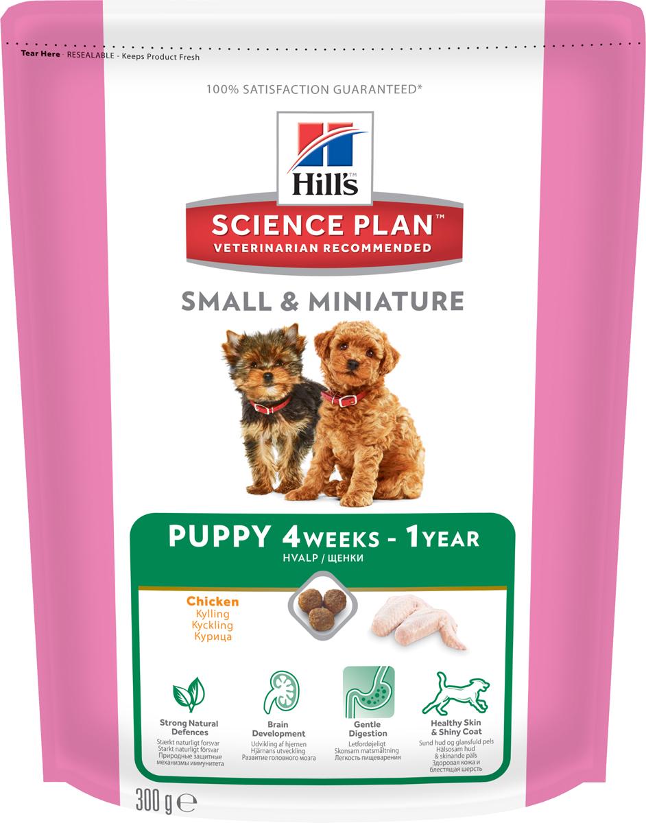 Корм сухой Hills для щенков мелких и миниатюрных пород, с курицей и индейкой, 300 г2816Сухой корм Hills создан специально для собак мелких и миниатюрных пород в возрасте до 1 года. Рацион содержит необходимые щенкам минералы, антиоксиданты, а также Омега-3 жирные кислоты, в составе которых повышен уровень ДГК (докозагексаеновой кислоты, полученной из натуральных источников). Корм также подходит беременным и кормящим сукам. Особенности: Комплекс клинически протестированных антиоксидантов для сильного иммунитета. Содержит натуральную ДГК (докозагексаеновую кислоту), вид Омега-3 жирной кислоты, для правильного развития головного мозга и сетчатки. Содержит натуральные высококачественные ингредиенты и натуральную клетчатку для чувствительного пищеварения. Сочетание Омега-3 жирных кислот и других питательных веществ для здоровой кожи и сияющей шерсти. Ингредиенты: высушенное мясо курицы и индейки (курица 36%, индейка 4%, общее содержание мяса домашней птицы 54%), кукуруза, пшеница, животный жир, гидролизат белка, молотый рис, мука из кукурузного глютена, мякоть свеклы, минералы, рыбий жир, льняное семя, выжимки томата, порошок шпината, мякоть цитрусовых, выжимка винограда, витамины, микроэлементы, таурин и бета-каротин. Содержит натуральные консерванты - смесь токоферолов и лимонную кислоту. Среднее содержание нутриентов в рационе: протеины 27,8%, жиры 19,1%, углеводы 36,9%, клетчатка (общая) 1,8%, влага 8%, кальций 1,33%, фосфор 1,07%, натрий 0,47%, калий 0,75%, магний 0,09%, Омега-3 жирные кислоты 0,93%, Омега-6 жирные кислоты 2,78%, таурин 159 мг/кг, витамин A 6914 МЕ/кг, витамин D 661 МЕ/кг, витамин E 690 мг/кг, витамин С 105 мг/кг, бета-каротин 1,5 мг/кг. Товар сертифицирован.