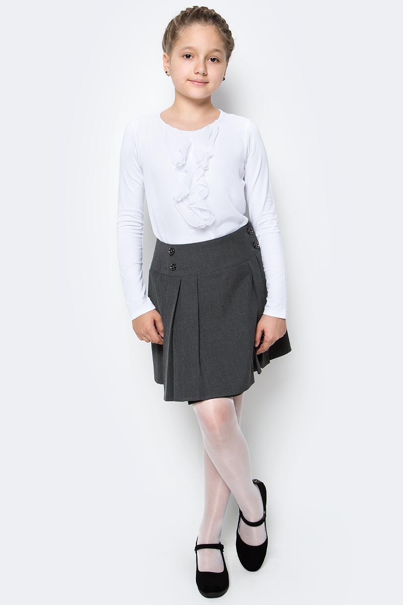 Юбка для девочки Nota Bene, цвет: серый. CWA27005A20. Размер 128 платье tutto bene tutto bene tu009ewzwn18