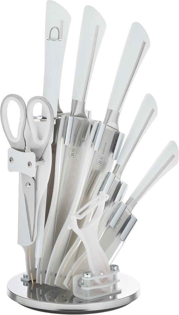 Набор ножей Rainstahl, на подставке, 9 предметов