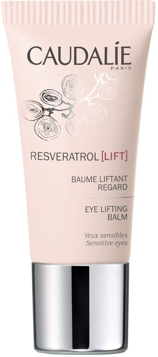 Caudalie Бальзам для глаз с эффектом лифтинга Resveratrol Lift, 15 мл187Эксперт для ваших глаз. Эксклюзивное объединение ингредиентов против морщин: Ресвератроль виноградной лозы и Микро комплекс Гиалуроновых кислот способствует естественной выработке Гиалуроновой кислоты клетками кожи*. Этот бальзам подтягивает кожу век и разглаживает морщины вокруг глаз и губ. Уменьшает мешки под глазами, снимает усталость. Взгляд становится молодым.
