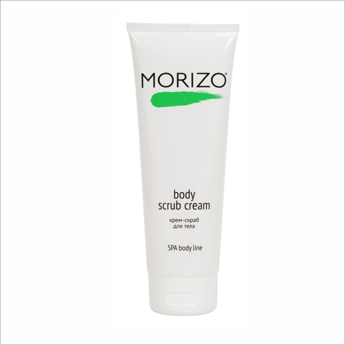 Morizo Крем-скраб для тела, 250 мл109029Крем- скраб питает и очищает кожу. Натуральные микрогранулы бережно отшелушивают верхний роговой слой. Экстракт конского каштана тонизирует, нативный трехспиральный коллаген повышает тургор и эластичность. Масла карите, сои и оливы придают коже мягкость и гладкость.
