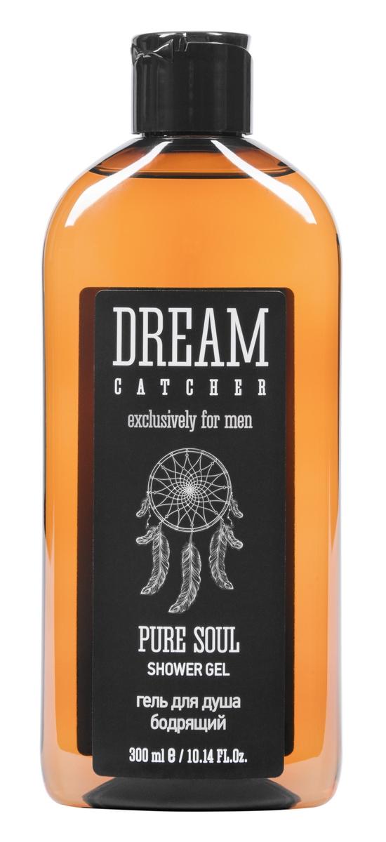 Dream Catcher Гель для душа бодрящий Pure soul shower gel, 300 мл4605370010084Гель мягко очищает и увлажняет кожу тела, сохраняя терпкий аромат свободы. В составе пряный чабрец, который оказывает тонизирующее и антисептическое действие, а также водорастворимый инулин – натуральный кондиционер, обеспечивающий глубокое увлажнение.