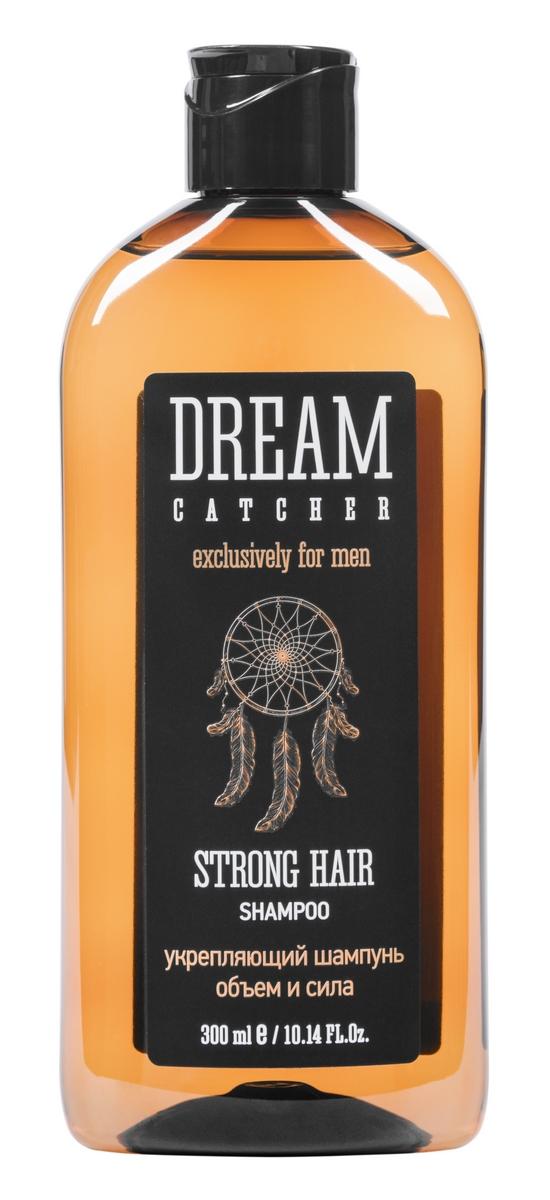 Dream Catcher Шампунь укрепляющий объем и сила Strong hair shampoo, 300 мл81616677Шампунь разработан для ежедневного ухода за нормальными и ослабленными волосами. Пептидный комплекс обеспечивает укрепление структуры волос изнутри и защиту от внешних воздействий. Водорастворимый инулин из корня цикория - природный кондиционер, дарит приятные ощущения и усиливает действие активных компонентов.