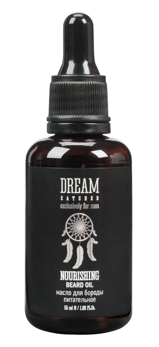 Dream Catcher Масло для бороды питательное Nourishing beard oil, 55 мл4605370010657Необходимое средство для идеального имиджа.В состав входят ценные масла и комплекс витаминов, которые способствуют увлажнению и питанию кожи, а также придают жизненную силу и ухоженный вид Вашей бороде.