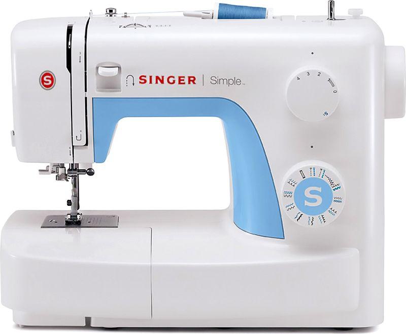 Singer Simple 3221 швейная машинаSIMPLE 3221Швейная машина Singer SIMPLE 3221 Электромеханическая 21 операция , вертик. челнок, петля автомат, нитеобрезатель, реверс