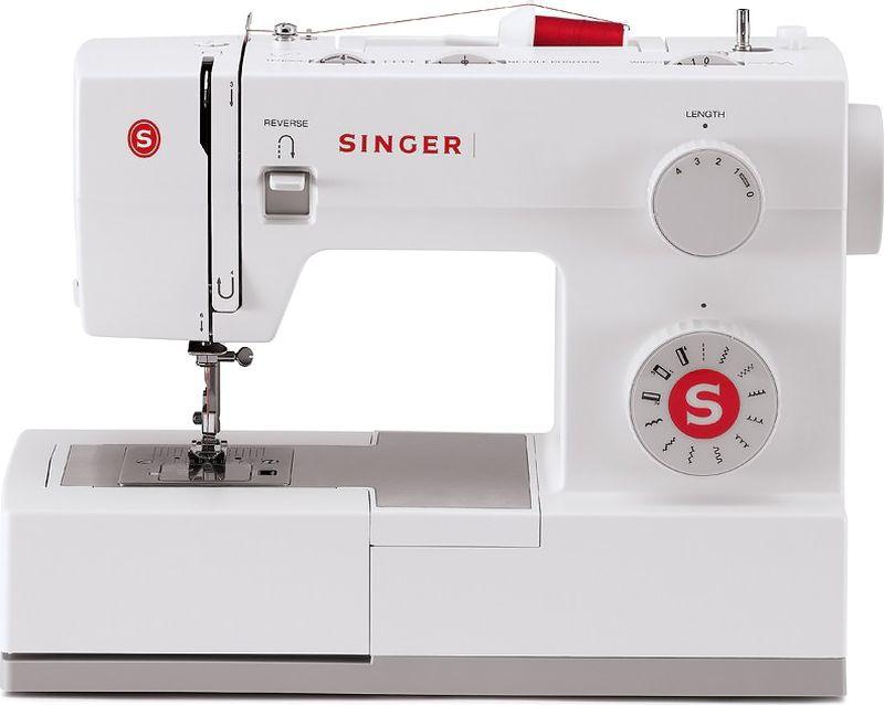 Singer Supera 5511 швейная машинаSUPERA 5511Швейная машина Singer SUPERA 5511 Электромеханическая 11 операций , петля-автомат, горизонтальный челнок