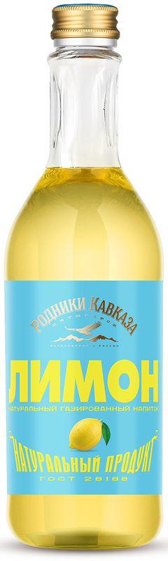 Родники Кавказа напиток лимон, 0,5 л бабич в родники
