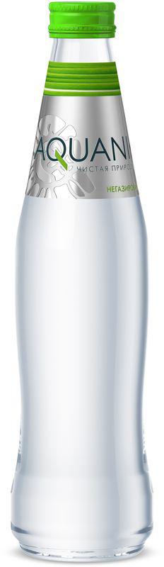 Акваника вода негазированная, 0,35 л volvic вода минеральная негазированная 0 5 л