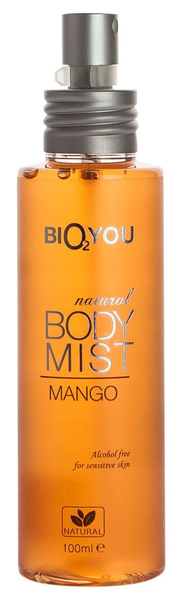 BIO2You Спрей для тела Манго, 100 мл961852Этот экзотический поцелуй нектарa манго наполнит вас положительными эмоциями. Hе содержит спирта, и идеально подходит для использования на чувствительной коже