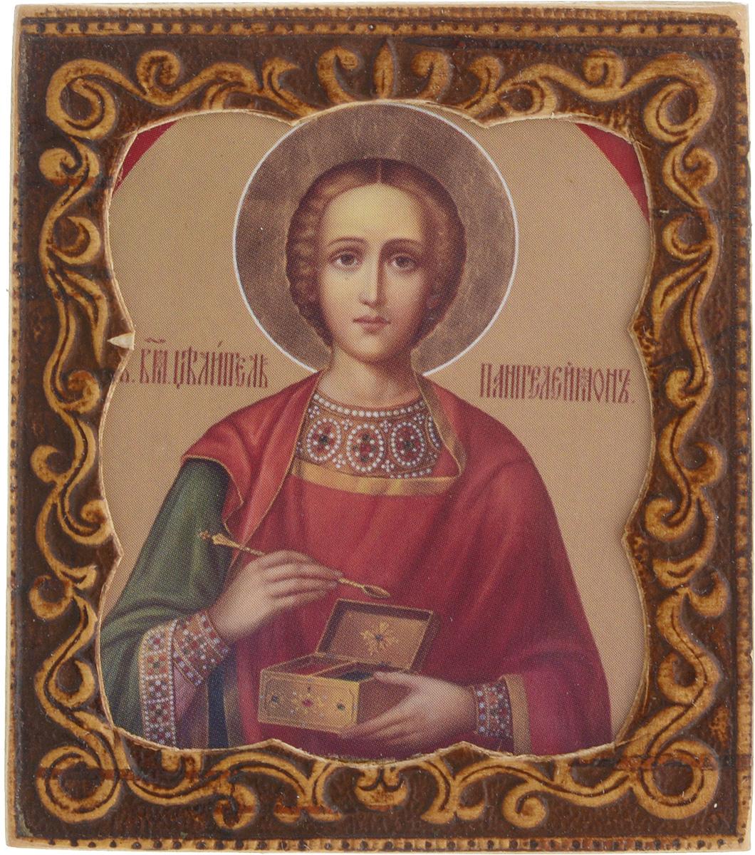 Икона Sima-land Святой Пантелеймон-целитель, 6 х 6,5 см икона святой никита